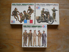 TAMIYA Military Miniatures US Military Police, Japanese Army, Famous Generals