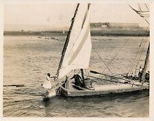 EGYPT c. 1920 - Silver Print Voyage sur le Nil - PP 83