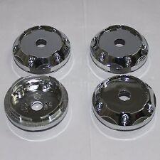 4PCS No Logo 64MM Silver Auto Wheel Center Rim Hub Cap Cover For Car