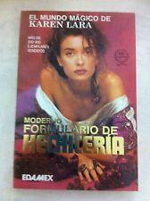 Moderno Formulario de Hechicería Karen Lara (1998-Paperback) Español