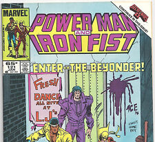 Power Man and Iron Fist #121 Beyonder Secret Wars from Jan. 1986 in Fine+ con NS
