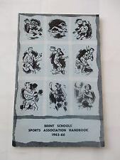 1965 1966 WILLESDEN SCHOOLS SPORTS  ASSOCIATION HANDBOOK