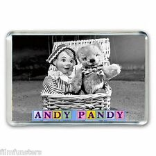 RETRO  TV  NOSTALGIA  ' ANDY PANDY'  JUMBO Fridge Magnet