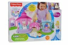 Fisher Price Little People Disney Princess Garden Tea Party BRAND NEW!