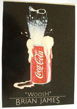 CARTE POSTALE COCA COLA BRIAN JAMES
