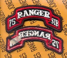 75th Infantry Airborne Ranger Regt STB Special Troops uniform scroll patch m/e