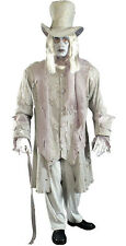 GHOSTLY GENTLEMAN SPOOKY ADULT MENS HALLOWEEN FANCY DRESS COSTUME - STD
