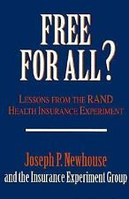 Free for All?: Lessons from the RAND Health Insurance Experiment-ExLibrary