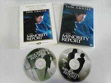 MINORITY REPORT TOM CRUISE 2 X DVD EDICION LUJO + EXTRAS CASTELLANO INGLES