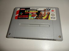 Super Nintendo SNES  Kevin Keegan's - Player Manager