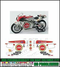 kit adesivi stickers compatibili rgv 250 gamma 500  team suzuki