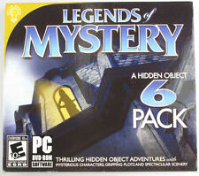 Legends of Mystery A Hidden Object 6 Pack (Relic Hunt/The Book of Desires & MORE