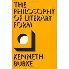 Philos of Literary Form,  Burke