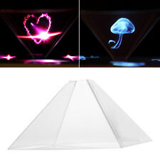 Hot 3D Holographic Display Pyramid Stand Projector for 3.5''~6.5'' Cell Phone