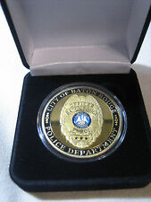 CITY OF BATON ROUGE Police Dept. Challenge Coin W/ GIFT BOX