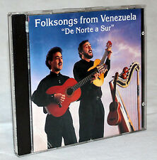 "CD-Folksongs from venezuela - ""de Norte a sur"""