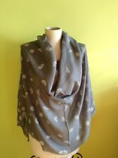 MAX MARA Weekend New Authentic Scarf-Foulard made in Italy, MSRP $250