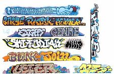 HO SCALE GRAFFITI DECALS COVERED HOPPERS FROM REAL PHOTOS SET 329