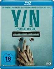 Y/N: Yes/No ( You Lie, You Die ) ( Thriller BLU-RAY ) mit Clare Carey, Tyrees Al