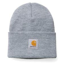 CARHARTT cappello ACRYLIC WATCH HAT Grey Heather beanie grigio