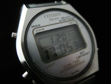 CRONOGRAFO CITIZEN SEVEN DUAL TIME CUARZO LCD / CITIZEN SEVEN DUAL TIME CHRONO