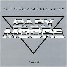 GARY MOORE PLATINUM COLLECTION 3 CD GREATEST HITS THIN LIZZY