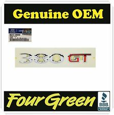 Hyundai Genesis Coupe GENUINE OEM 380GT Emblem Rear Trunk  [863122M000]