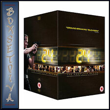 24 - COMPLETE SERIES SEASONS 1 2 3 4 5 6 7 8+ REDEMPTION+LIVE ANOTHER DAY*BOXSET