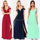 Hot Women Greek Style Chiffon Pleated Retro Long Maxi Dress Elastic Waist Skirt