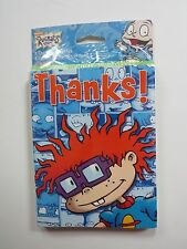 Rugrats Party Supplies 8 Thank You Cards & 8 envelopes 2000