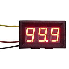 Mini Rot LED Digital Voltmeter Spannungsanzeige Amperemeter Strommesser 0-99.9V