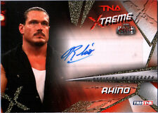 TNA Rhino 2010 Xtreme GOLD Authentic Autograph Card SN 24 of 99