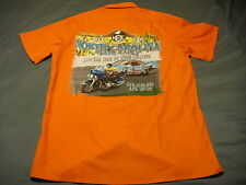 HARLEY DAVIDSON OWNERS GROUP RARE NC State Rally 2008 S/S Work Shirt WearGuard M