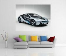 BMW i8 MISSION IMPOSSIBLE GHOST PROTOCOL GIANT WALL ART PICTURE PRINT POSTER H20