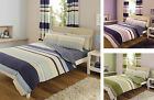Luxury CONTEMPORARY Duvet Cover With Pillow Cases Bedding Set Single Double King
