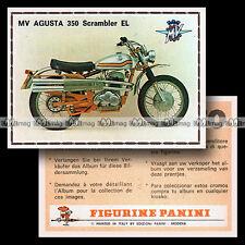 #pnsm75.146 ★ MV AGUSTA 350 SCRAMBLER EL ★ Panini Super Moto 75