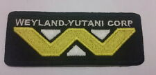 #288 ALIEN WEYLAND-YUTANI CORP ,EMBROIDERED IRON-ON PATCH  BADGE LOGO UK SALLER