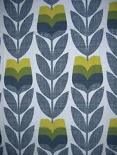 Orla kiely rosebud scribble maïs jaune 1m/2m 100cm/200cm goutte nouveau tissu