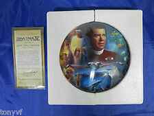 STAR TREK IV THE VOYAGE HOME HAMILTON 23k GOLD RIM PLATE COLLECTION 1994 | NEW