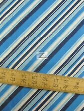 "STRIPE BEACH BABIES BY SOUTH SEA IMPORTS 100% COTTON FABRIC 45"" WIDTH FH-704"