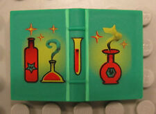 LEGO HARRY POTTER - Green Book 2 x 3 with Red Bottles Pattern