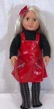"""Our Generation 18"""" Doll By Battat Long Blond Hair, green eyes 18 In"""