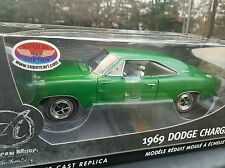 Ertl 1:18 Diecast Authentics - 1969 Dodge Charger R/T Green MIB Supercar LE