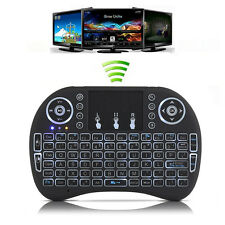 Backlit Mini i8 Wireless Keyboard with Touchpad Mouse Remote for Smart TV Box PC