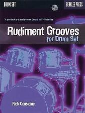 Rudiment Grooves for Drum Set by Rick Considine (w/ CD)