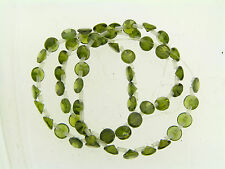Genuine Cubic Zironia Round Brilliant Cut Olive Green Loose Bead Strand Lot
