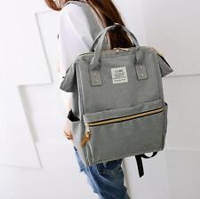 Ladies Girls Canvas Backpack Fashion Oxford Handbags Travel Square Bag