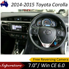 "7"" inch TOYOTA Corolla Seden Car DVD GPS Stereo Player Head Unit 2014-2015"