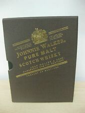 New Johnnie Walker Writing Note Book with Box