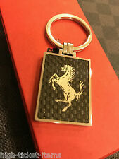 Genuine Ferrari Carbon Fiber Keyring Extremely RARE Sold Out Brand NEW RARE
